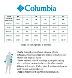 Campera Columbia Impermeable Watertight II M - Cabo Fisterra