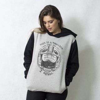 MOLETOM RAGLAN - REBEL