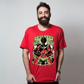 CAMISETA VERMELHA - LIKE A VILLAIN