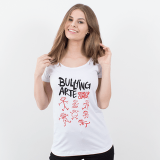 CAMISETA BRANCA - BULLYING ARTE