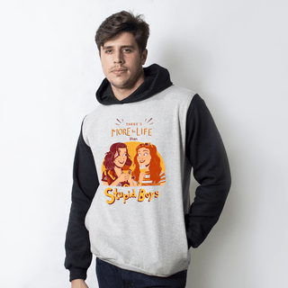 MOLETOM RAGLAN - STUPID BOYS