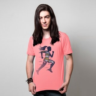 CAMISETA ROSA - GO THE DISTANCE