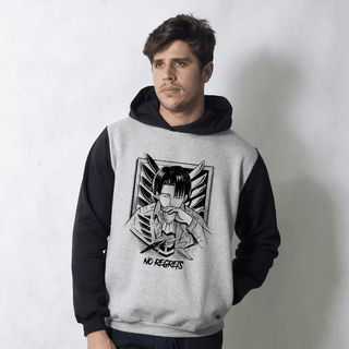 MOLETOM RAGLAN - NO REGRETS