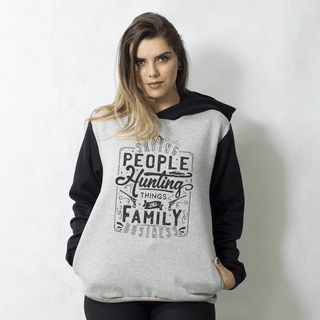MOLETOM RAGLAN - THE FAMILY BUSINESS