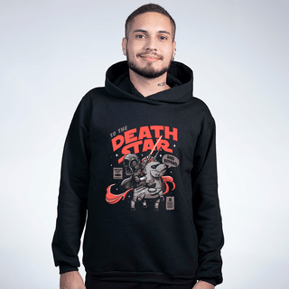 MOLETOM PRETO - DEATH STAR