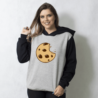 MOLETOM RAGLAN - COOKIE CARTOON