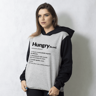 MOLETOM RAGLAN - HUNGRY