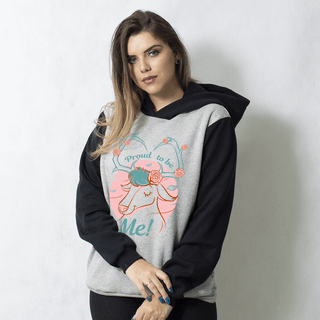 MOLETOM RAGLAN - PROUD TO BE DEER