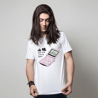 CAMISETA BRANCA - GAMEBOY