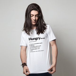 CAMISETA BRANCA - HUNGRY
