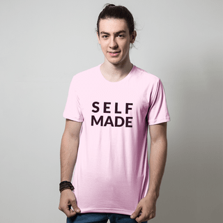 CAMISETA ROSA - SELF MADE