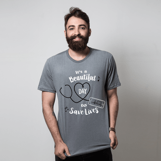 CAMISETA CHUMBO - SAVE LIVES