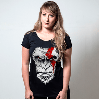 camiseta preta filmes e series monkey of war