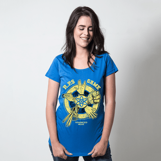 CAMISETA AZUL ROYAL - TBBT