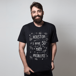 camiseta preta internet houston