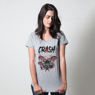 CAMISETA CINZA - CRUSH