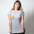 CAMISETA CINZA - SMILEY