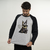 MANGA LONGA RAGLAN CINZA - PUG THE GREY
