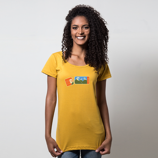 CAMISETA MOSTARDA - EXPEDITIONS