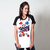 CAMISETA RAGLAN BRANCA - GAME OVER