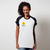 CAMISETA RAGLAN BRANCA - SMILEY