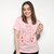 CAMISETA ROSA - GOOD THINGS TAKE TIME