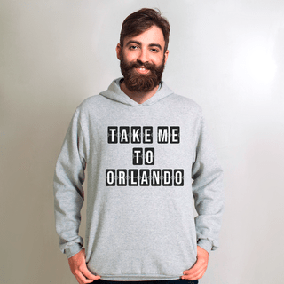 MOLETOM CINZA - TAKE ME TO ORLANDO