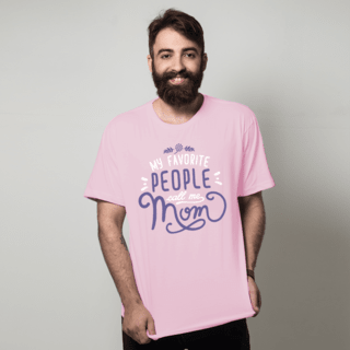 CAMISETA ROSA - FAVORITE PEOPLE