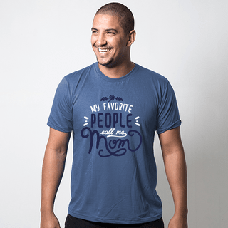 CAMISETA AZUL PETRÓLEO - FAVORITE PEOPLE