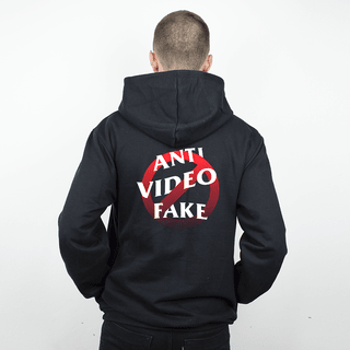 MOLETOM PRETO - ANTI VIDEO FAKE
