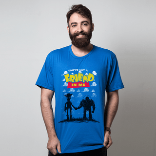 CAMISETA AZUL ROYAL - YOU'VE GOT A FRIEND