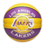 Bola de Basquete Spalding - NBA Time Los Angeles Lakers