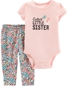 Carter's Set 2 piezas body + pantalon - Ratoncito