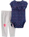 Carter's Set 2 piezas body + pantalon - Azul