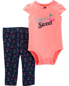 Carter's Set 2 piezas body + pantalon - Super Sweet