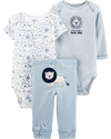 Carter's Set de 3 piezas: 2 Bodies + Pantalon -Leon