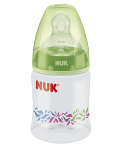 NUK Mamadera First Choice Plus Diseños 150ml - Verde Dinosaurio - comprar online