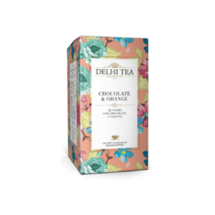 Delhi Tea Té Chocolate & Orange - comprar online