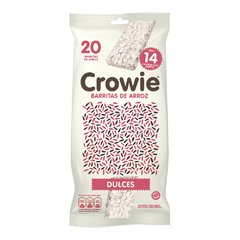 Crowie Barritas de Arroz Integral Dulces