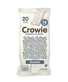 Crowie Barritas de Arroz Integral Saladas