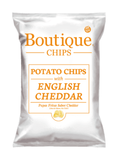 Boutique Chips English Cheddar