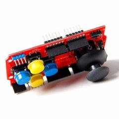 Arduino Joystick Shield 7 Pulsadores Con Interfaces Nubbeo - Nubbeo