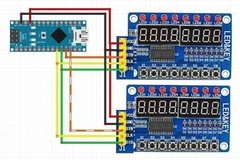 Imagen de Modulo Display 8 Digitos 8 Teclas 8 Leds Tm1638 Nubbeo