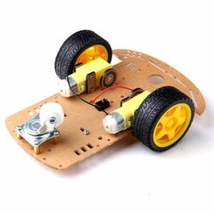 Kit Chasis Auto Robot Smart Car 2wd 2 Motores Nubbeo en internet