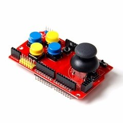 Arduino Joystick Shield 7 Pulsadores Con Interfaces Nubbeo en internet