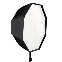 Imagem do Kit Softbox Octogonal 80cm Com Tripé E Suporte Flash Speedlite
