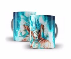 Caneca Dragon Ball, Dragon Ball Z Goku Sayadin Blue - Oferta