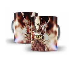 Caneca Copo Chicara One Punch Man Anime Saitama Oferta # 11