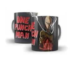 Caneca Copo Chicara One Punch Man Saitama Anime Oferta # 01
