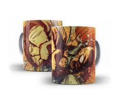 Caneca Copo Chicara One Punch Man Saitama Anime Oferta # 02